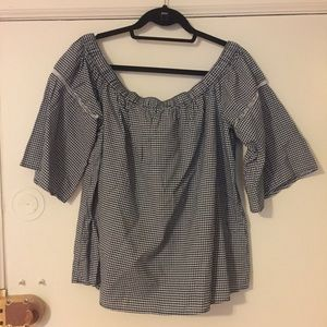 Off the shoulder top, NWOT Abercrombie